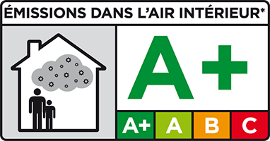 logo emission A+