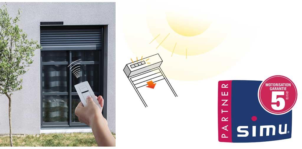 motorisation solaire druet